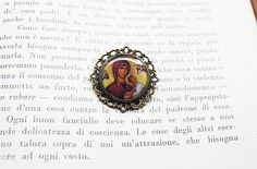 Religious Byzantine Icon  Virgin Mary and by Blingstopaythebills, €10.00