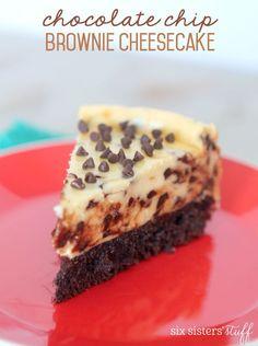 Chocolate Chip Brownie Cheesecake Recipe