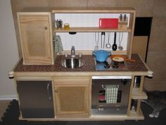 First project - Play Kitchen | Do It Yourself Home Projects from Ana White