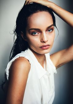 Makeup. // note: Luma Grothe by David Urbanke