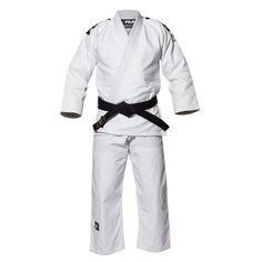 The FUJI Deluxe White Gi (LUXW) is a double weave white judo competition and training uniform that meets the new IJF size and weight specifications. This excellent fitting and comfortable uniform is m...