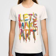LET'S MAKE ART T-shirt