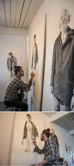 San Francisco artist Joel Daniel Phillips     http://www.juxtapoz.com/current/powerful-portraits-joel-daniel-phillips