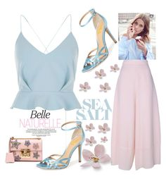 """""""FSJ  light blue summer sandals"""" by fsjamazon ❤ liked on Polyvore featuring River Island, See by Chloé and Gucci"""