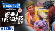 Here's the Kalakalappu2 behind the scenes with Jivva.