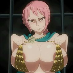 Rebecca Ecchi hentai fanservice One Piece