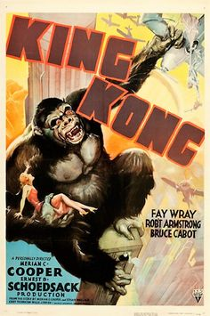 Image: Vintage Poster of King Kong 1938, a one sheet Vintage Poster that is part of the Heritage Auctions Vintage Movie Poster Sale