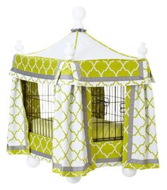 7 Ways to Dress Up an Ordinary Dog Crate - HouseBeautiful.com