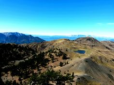 The 2nd alpine lake @ Mt. Smolikas - view from 2.637m elevation