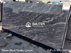 Black Markino Granite is a perfect idea for interior & exterior application to décor your home in a unique way. It is the highly demanded stone for its beautiful look & appearance. It has the ability to stand in high Pressure over the time. Bhutra Marble & Granites Pvt. Ltd. is an exclusive exporter, wholesaler, and supplier of the Black Markino Granite in India. We provide premium quality product to all the clients according to their demand to make a good and long-term relationship with… Granite Tops, Granite Slab, Granite Suppliers, Business Ethics, Italian Marble, Good People, Interior And Exterior, Relationship, India
