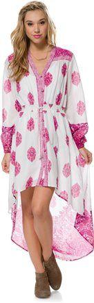 BILLABONG PRETTY LADY LS HI LO MAXI DRESS > Womens > Featured > Spring Boho | Swell.com