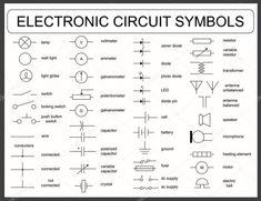23 Best Sample Of Automotive Wiring Diagram Design - bacamajalah Electrical Circuit Symbols, Basic Electrical Wiring, Electrical Wiring Diagram, Electrical Engineering, Power Engineering, Electronics Projects, Electronics Components, Motorcycle Wiring, Motorcycle Tips