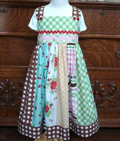 Cherry dress - pretty dress!! Pattern and kit is either $34 or $40 dollars depending on size.