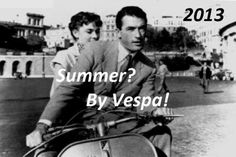 "On two wheels, motorcycle tour at Lake Maggiore – 2013... Go out for a tour with an original Italian: the ""Vespa""!"