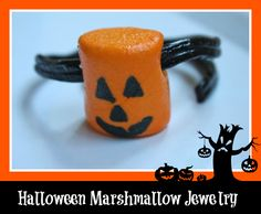 Edible Halloween Jewelry | Yesterday On Tuesday
