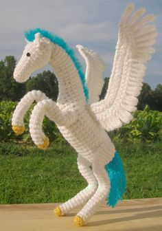Pegasus - (disney's hercules) - Pattern link to a horse pattern for sale - no pattern for the wings