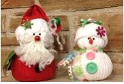 I have been making these snowmen for about 2 months, everyone likes them, but my mother-in-law wanted a santa, this is what I came up with.  I think it came out cute.
