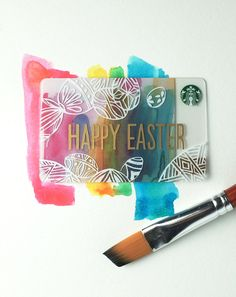 The perfect addition to your Easter bounty—New 2015 Easter Starbucks Card.