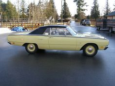 1969 Dodge Dart Convertible Maintenance/restoration of old/vintage vehicles: the material for new cogs/casters/gears/pads could be cast polyamide which I (Cast polyamide) can produce. My contact: tatjana.alic14@gmail.com