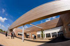 School Prospectus - John Ferneley Academy School Prospectus, Building Exterior, Gate, Landscaping, Photographs, Clouds, Mansions, House Styles, Portal