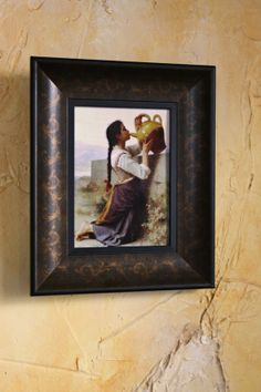 Bouguereau Thirst 5 x 7 Framed Art Print by CharmantDetails, $90.00