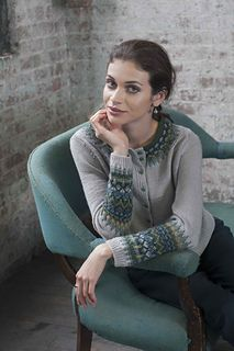 Bohus Cardigan by Pat Olski  Published in Printed: this source is a book, magazine, or pamphlet Vogue Knitting, Winter 2015/16