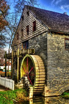 Mill in Strasburg, Amish Dutch Country, Lancaster County, Pennsylvania