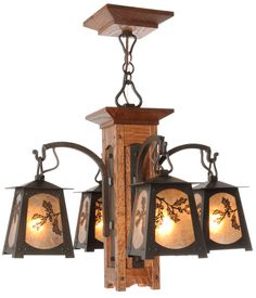 Interior Craftsman, Bungalow, Mission, Arts and Crafts Style Lighting - Old California Lantern Company