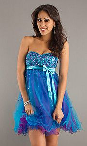 short prom dress...I sold this about 3 years ago and could keep on selling it forever. Just adorable!