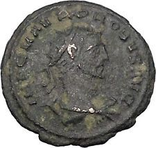 Probus receiving globe from Jupiter 276AD Authentic Ancient Roman Coin i46997