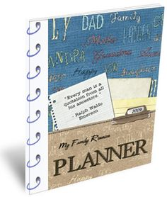 My reunion planner is a combination of my love of family and event planning, resulting in a practical planning guide that will walk you through every aspect of family reunion planning.