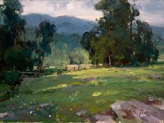 """Early Summer in Catskill Mountains"", 9 x 12, Oil on Canvas, by Xiangyuan Jie"
