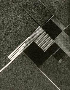 Art Déco - Couverture Reliure de Livre - Geneviéve de Léotard - 1928