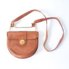 unique vintage designer Maxx leather purse / perfect preppy classic