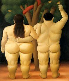 FERNANDO BOTERO,1483: ADAM AND EVE,1998