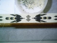 Eagle Beaded Hatband Native American style beaded Hat Band an feathers | ajwhatbands - Accessories on ArtFire