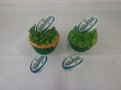 24 Rugby Edible Wafer Disc Cupcake Topper Decorations **fab** in Crafts, Cake Decorating | eBay