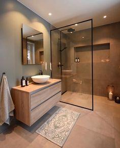44 magnificient scandinavian bathroom design ideas that looks cool – Bathroom Inspiration Scandinavian Bathroom Design Ideas, Modern Bathroom Design, Bathroom Interior Design, Toilet And Bathroom Design, Bath Design, Key Design, Simple Bathroom Designs, Bathroom Vinyl, Brown Bathroom