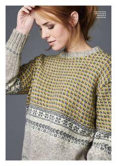 Fabulous Crochet a Little Black Crochet Dress Ideas. Georgeous Crochet a Little Black Crochet Dress Ideas. Fair Isle Knitting Patterns, Knitting Designs, Knitting Tutorials, Knitting Charts, Knit Patterns, Stitch Patterns, Fair Isles, Hand Knitted Sweaters, How To Purl Knit