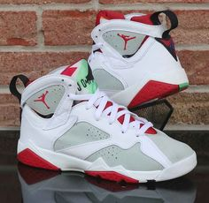 uk availability 08757 1cc93 Nike Air Jordan 7 VII Retro BG GS Hare Bugs Bunny White Red 304774-125 Size  7Y