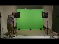 Video production tutorial: Green-screen lights and materials | lynda.com - YouTube