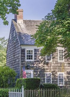 Just a little patriotic New England cottage to call home...