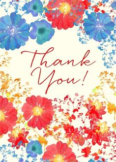 Beautiful thank you note thanks cards pinterest note bright poppy thank you m4hsunfo