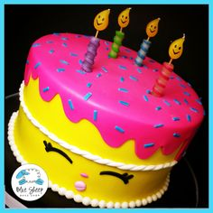 wishes shopkins cake nj