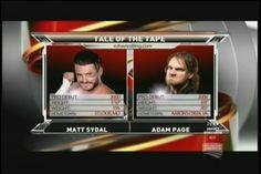 Ring of Honor TV on Destination America: Evan Bourne / Matt Sydal vs. Adam Page