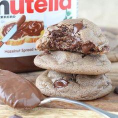 Les cookies fourrés au Nutella