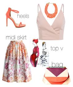 """Untitled #360"" by sanela-o ❤ liked on Polyvore featuring DESA and Chicwish"