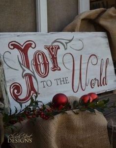 5 Easy Tips for Christmas Decorating - Plus enter a giveaway to win this sign! (giveaway ends 11/29/13)