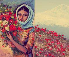"""Armenian woman""  2013  Hayk Martirosyan"
