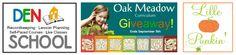 Oak Meadows Curriculum Giveaway ends 9/5